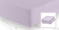 Простыня трикотажная 180-200x200 Elegante 8000 лаванда