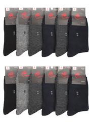 A1033 носки мужские 41-47 (12 шт.) цветные
