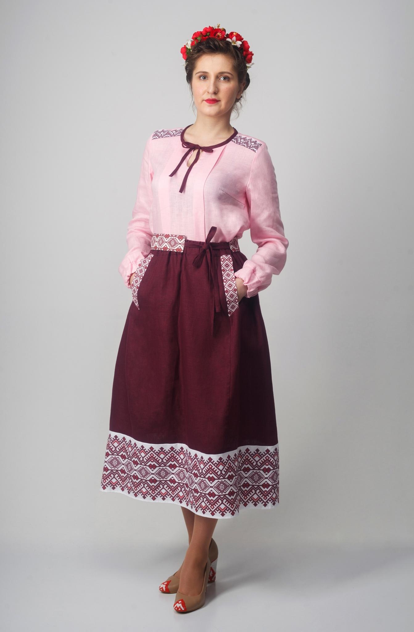 Блуза Самоцветы (Сапфир)