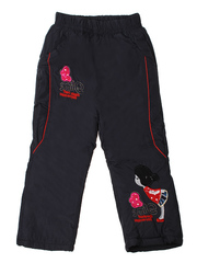 E28-3 штаны для девочек, темно-синие