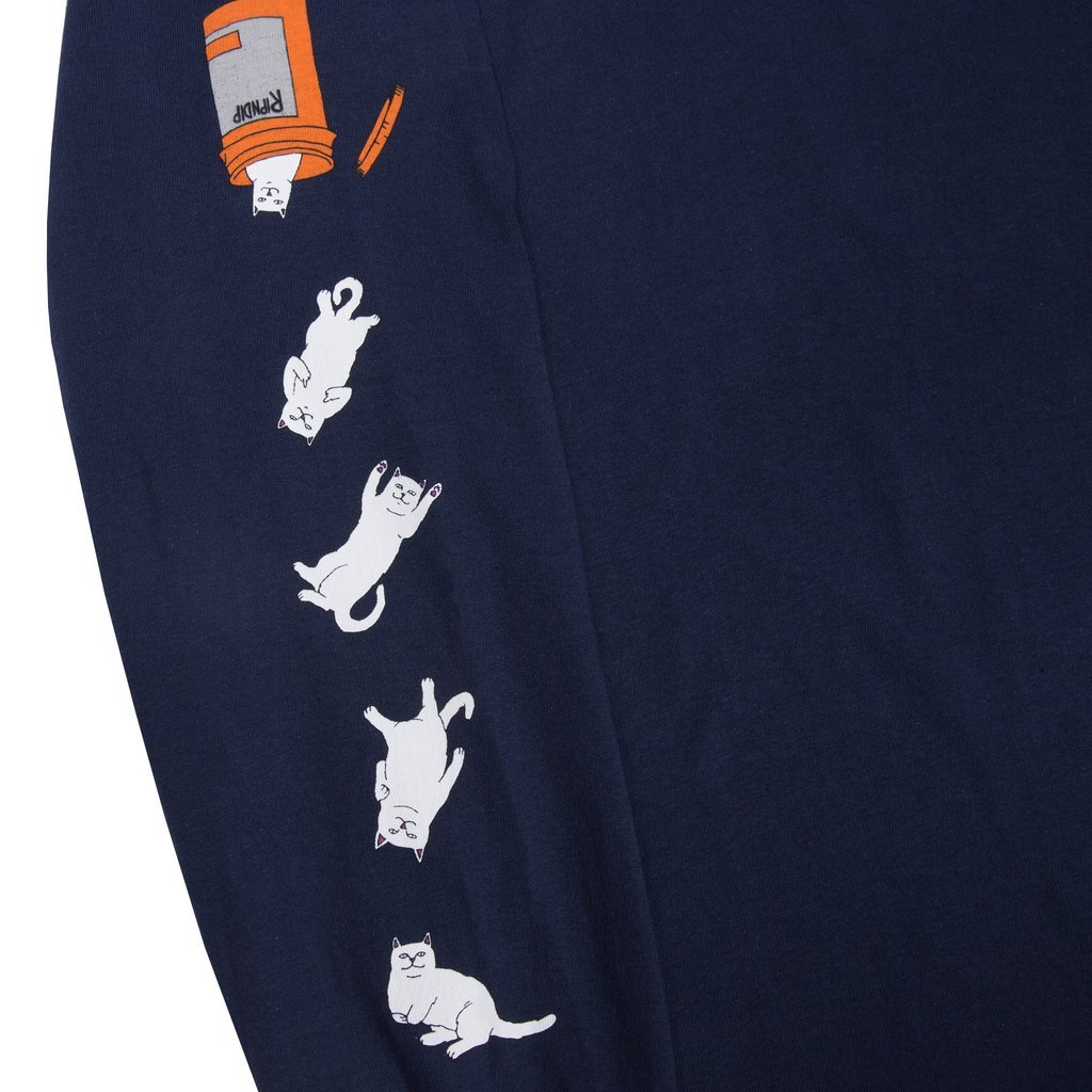 Лонгслив RIPNDIP Nermal Pills (Navy)