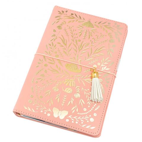Блокнот (тревелбук) - American Crafts Journal Studio Kit  - 14х22 см - Swan By Crate Paper