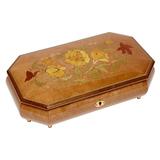 Шкатулка для ювелирных украшений музыкальная, арт. AW-02-053 от Artwood, Италия
