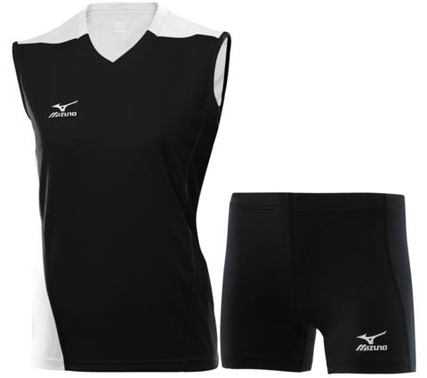 Волейбольная форма Mizuno Trade женская черная
