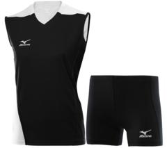 Женская волейбольная форма Mizuno Trade (79HV361M 14-79RT363M 14) черная