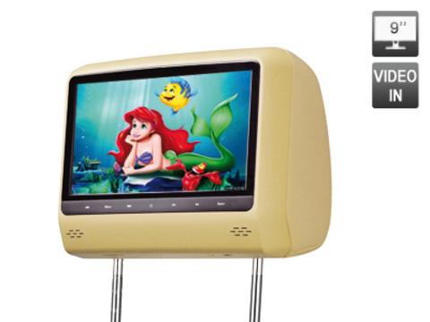 Подголовник с LCD монитором AVIS Electronics AVS0944BM (бежевый)