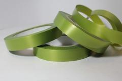 Лента простая (2см*50м) Гладкая без тиснения/ Оливковый