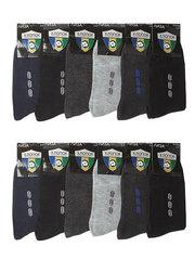 A7003-3 носки мужские 41-47 (12шт), цветные