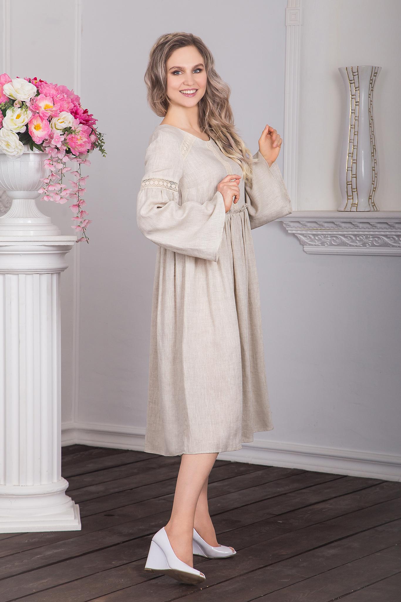 купить платье бохо в русском стиле