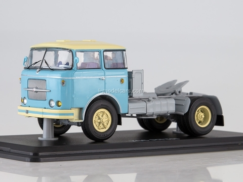 Skoda LIAZ 706 RTTN road tractor blue-beige 1:43 Start Scale Models (SSM)