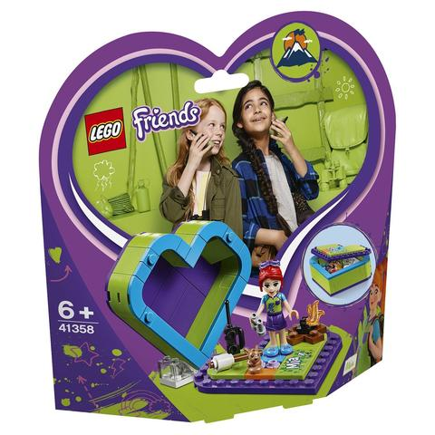 LEGO Friends: Шкатулка-сердечко Мии 41358 — Mia's Heart Box — Лего Френдз Друзья Подружки