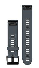Ремешок силиконовый QuickFit 22 для Garmin Fenix 5 (гранитно-синий) 010-12496-01
