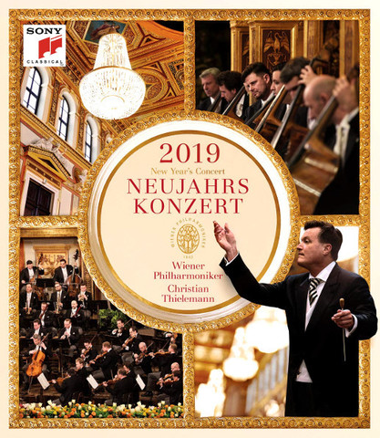 Vienna Philharmonic, Christian Thielemann / New Year's Concert 2019 (Blu-Ray)