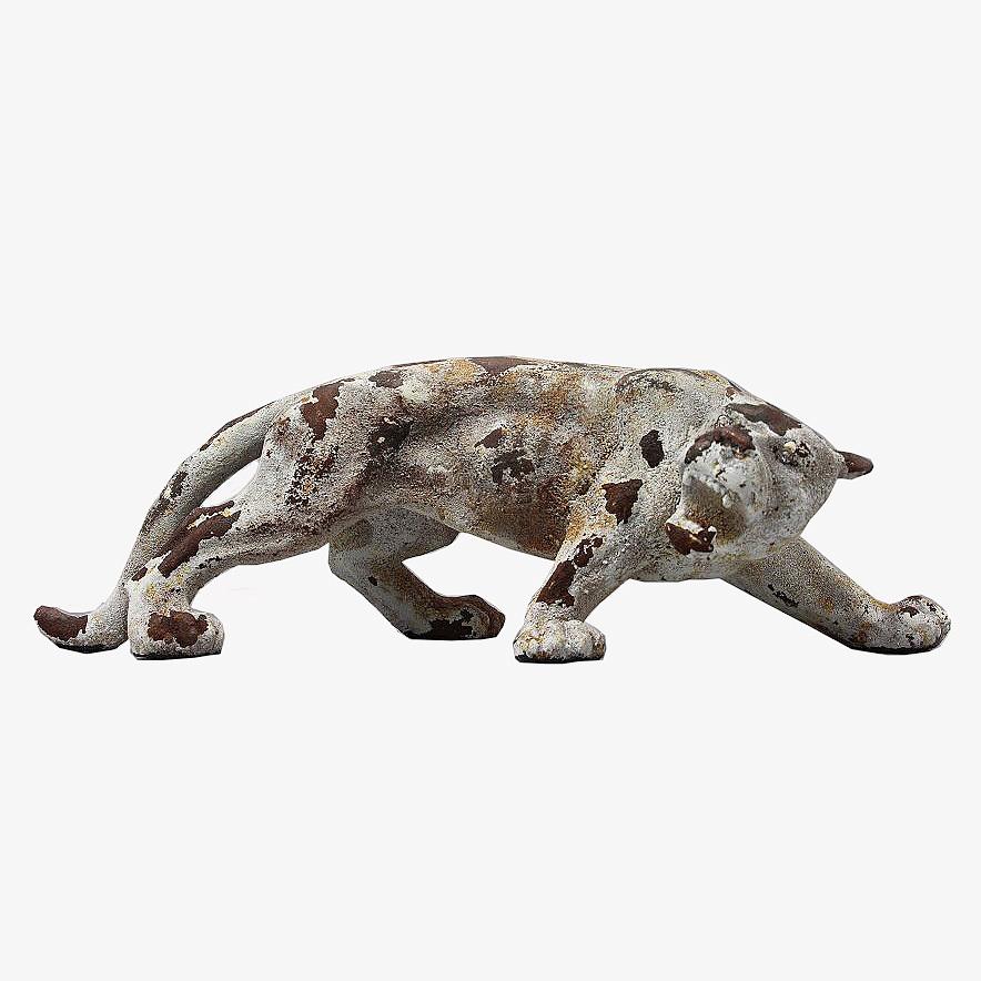 Статуэтки Статуэтка Decor Леопард маленький 86515AW statuetka-decor-leopard-malenkiy-86515aw-kitay.JPG