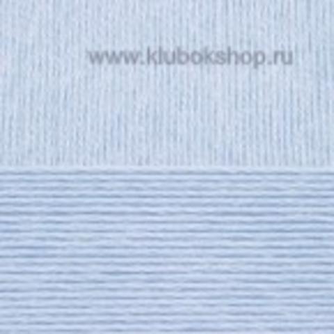 Пряжа Вискоза натуральная Пехорский текстиль Светло-голубой 60