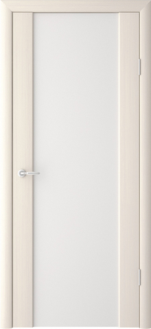 Дверь ALBERO Сан-Ремо СР-1 триплекс белый (лиственница мокко, остекленная экошпон), фабрика Фрегат