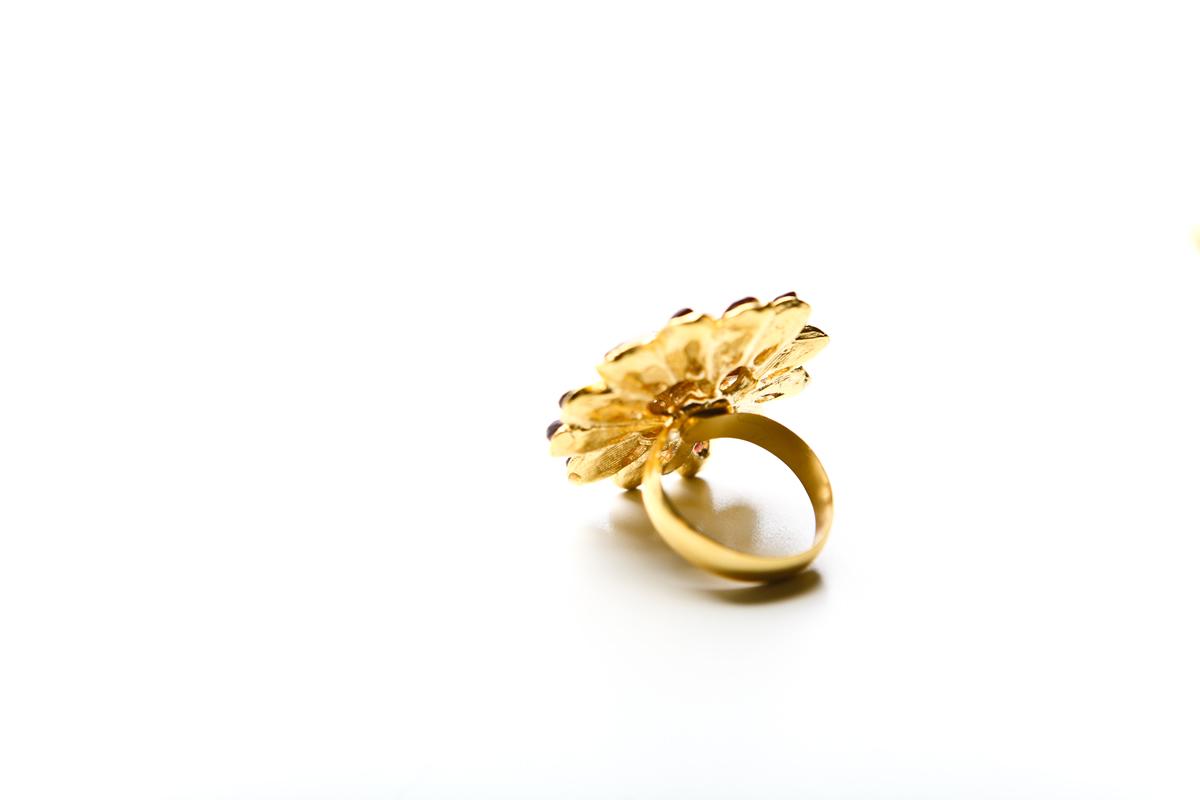 """Кольцо """"Цветок"""" от Swoboda"""