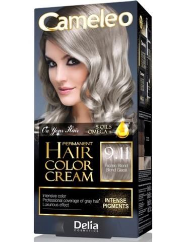 Delia Cosmetics Cameleo Крем-краска для волос тон 9.11 морозный блондин