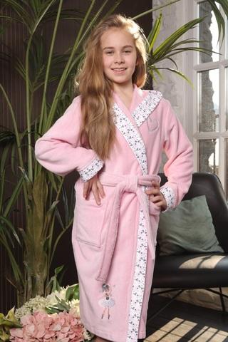 Balerinka розочка детский халат для девочки  Five Wien Турция