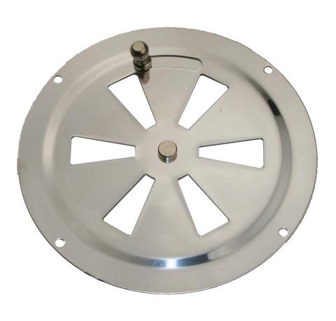 Крышка вентиляции с заслонкой 102 мм