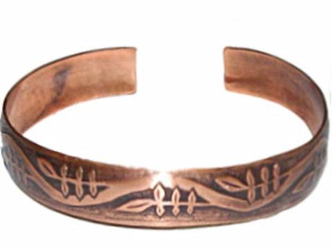 Браслет Рябинушка - символ жизни, Мировое Древо, медь, 10 см