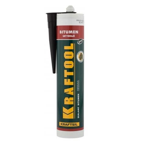 Герметик битумный KRAFTOOL черный, 300мл (41261)