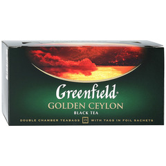 "Чай чёрный ""Greenfield"" Golden Ceylon 25*2г"