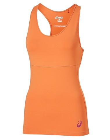 Asics Racerback Top Женская спортивная майка оранжевая