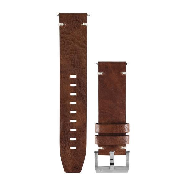 Кожаный ремешок Garmin Fenix Chronos