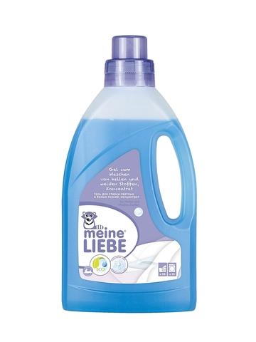 Гель, Meine Liebe, стирка белых/светлых тканей, концентрат, 800 мл