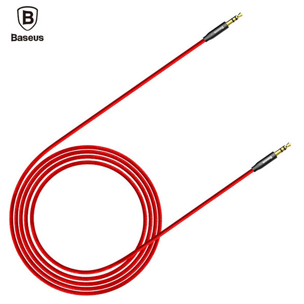 Аудио кабель Baseus M30 Yiven Audio Cable - AUX - 1.5м красный