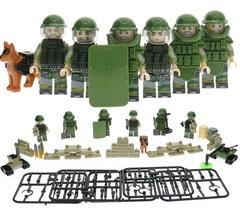 Минифигурки Военных Спецназ отряд Саперов серия 182