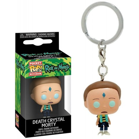 Брелок Морти c кристалом Смерти - Рик и Морти || POP! Keychain Death Crystal Morty