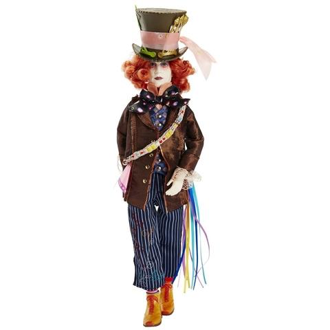 Коллекционная Кукла Безумный Шляпник - Алиса в Зазеркалье, Jakks Pacific
