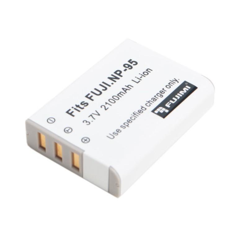 Аккумулятор FUJIMI NP-95 Батарея для цифровых фото и видеокамер FUJIFILM X30, X100, X100S, X100T, X-S1, FinePix F30, FinePix F31 fd, FinePix Real 3D W1