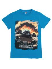 BK003-18 футболка детская, синяя