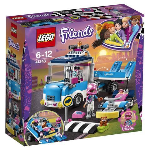 LEGO Friends: Грузовик техобслуживания 41348 — Service & Care Truck — Лего Френдз Друзья Подружки