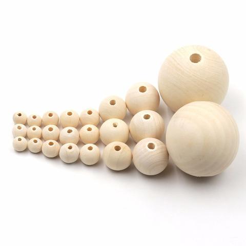 9971 Бусина деревянная, 5 см
