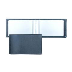 Визитница для 28 карт, горизонтальный, 60x100 мм, синий 2754-101