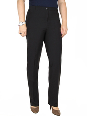 A902 брюки женские утепленные, черные