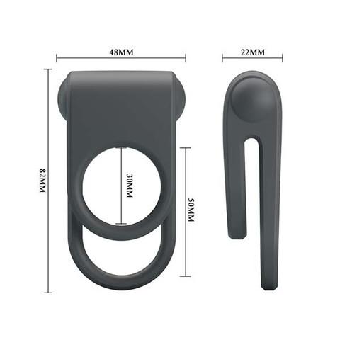 Вибрирующее кольцо Juiie (d. 4 см)