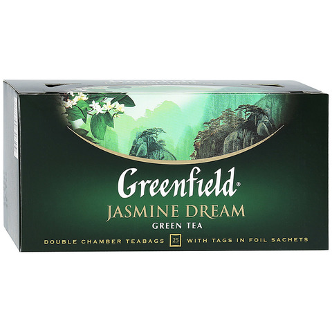 "Чай зелёный ""Greenfield"" Jasmine Dream 25*2г"