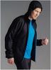 Беговой костюм с капюшоном Nordski Run Black-Blue мужской