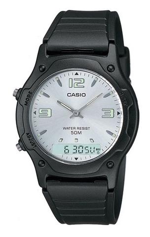 Купить Мужские японские электронные наручные часы Casio AW-49HE-7АVDF по доступной цене