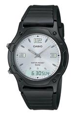 Мужские японские электронные наручные часы Casio AW-49HE-7АVDF