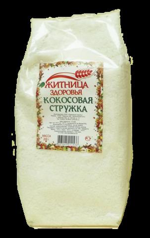 Кокосовая стружка, 200 гр. (Житница здоровья)