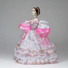 Кукла в костюме невесты конца 40-х годов 19 века