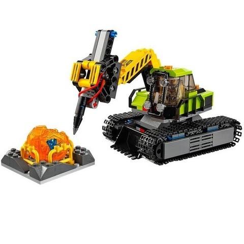 LEGO City: База исследователей вулканов 60124 — Volcano Explorers Volcano Exploration Base — Лего Сити Город