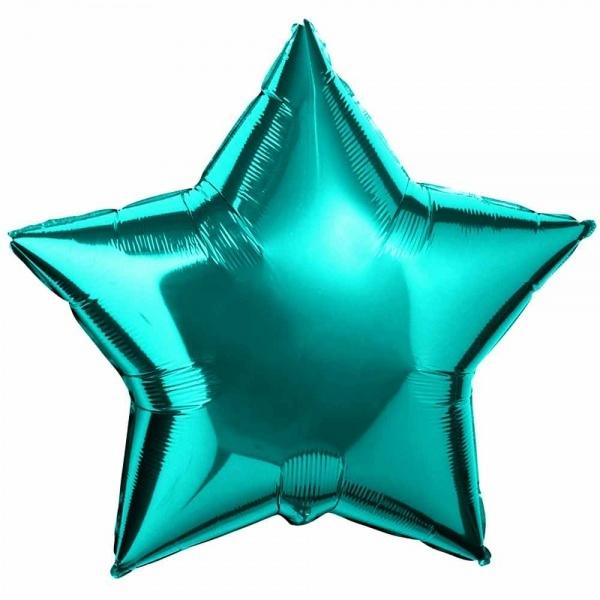 Шар Звезда Бирюзовая Тиффани