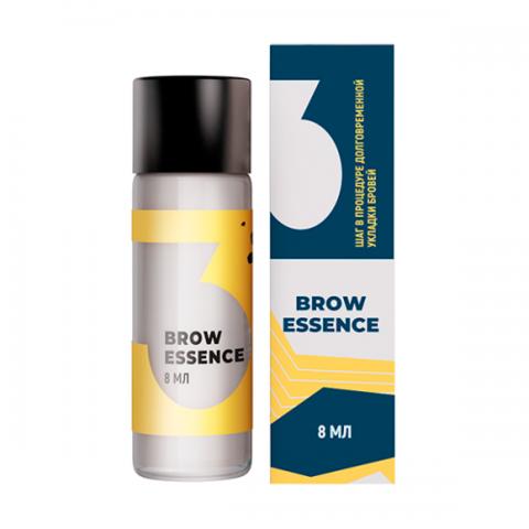 SEXY Состав #3 для долговременной укладки бровей BROW ESSENCE, 8 мл.